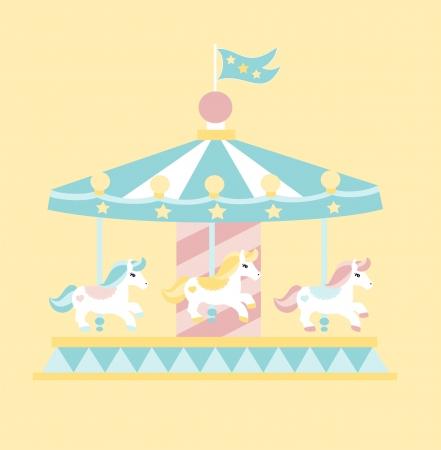 merry go round: Carousel