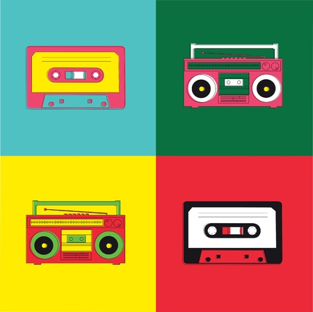 pop: Pop Art Radio Cassette