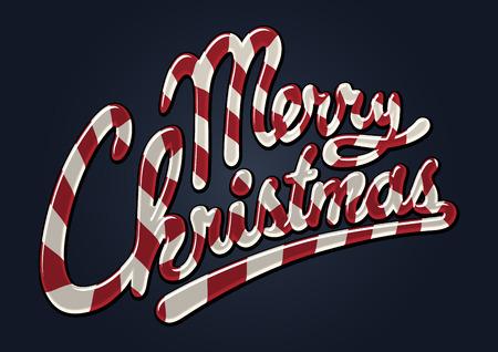 caramelos navidad: Bast�n de caramelo de feliz Navidad