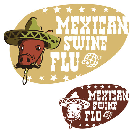 Mexican swine flu Stock Vector - 9011555
