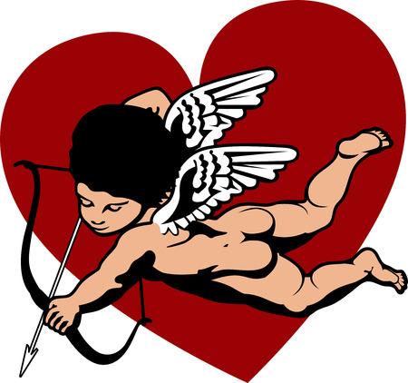 Cherub Cupid Vector