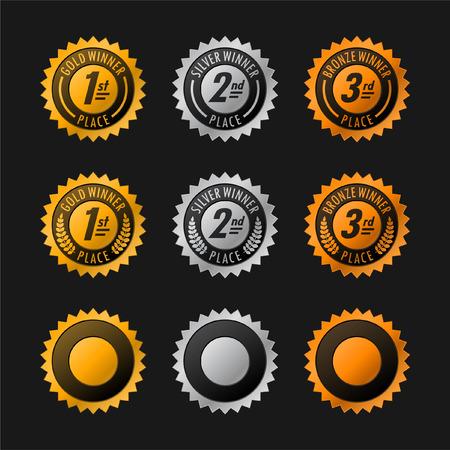 Oro, plata y bronce, ganando medallas