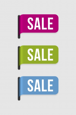 Use this label to highlight anything on sale  Vector