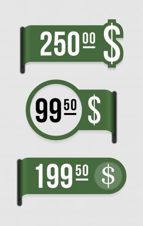 전자 상점, 카탈로그 등이 가격 태그를 사용