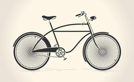 Vector illustratie van vintage fiets