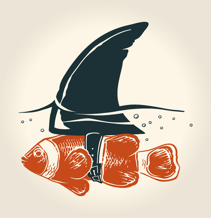 素晴らしいアイデアと小さな魚