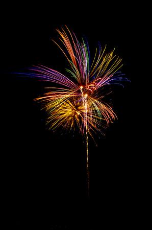 glow pyrotechnics: firework
