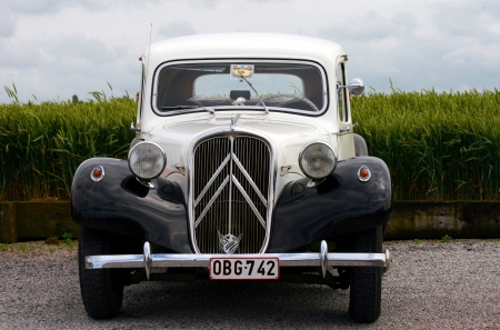 An oldtimer from Citroen French retro car