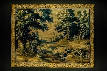 flemish: Gobelin tapestry made in oudenaarde flanders belgium