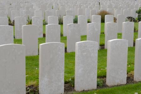 Tyne Cot Cemetery eerste wereldoorlog vlaanderen België