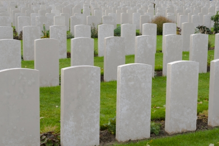 Tyne cot cemetery first world war flanders Belgium
