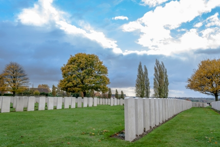ypres: Soldiers of the great war cemetery flanders Belgium