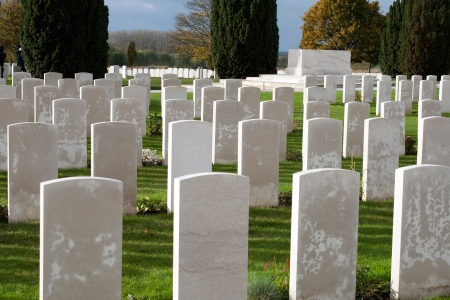 Soldiers of the great war cemetery flanders Belgium  Stock Photo - 23865198