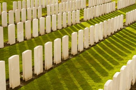 Tyne Cot Cemetery in Ypres world war belgium flanders photo