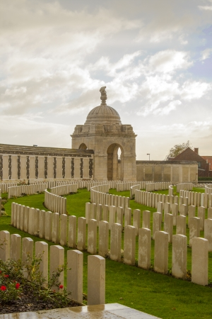 world war one cemetery tyne cot belgium flanders ypres