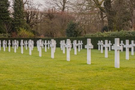American cemetery Flanders field Belgium Waregem