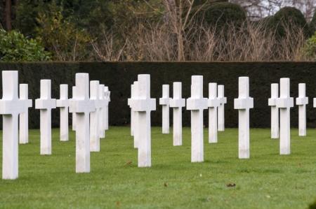 flanders: American cemetery Flanders field Belgium Waregem