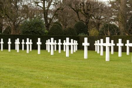 American cemetery Flanders field Belgium Waregem photo