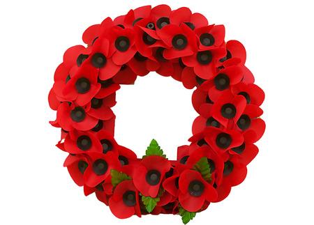 amapola: Día Poppy flandes mundo gran guerra recuerdo Foto de archivo