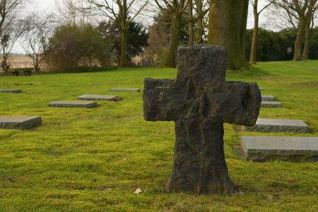 flanders: German cemetery friedhof in flanders world war one belgium
