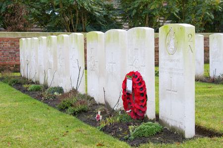 flanders: Cemetery great world war one flanders belgium