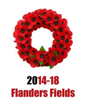 Poppy world war one great poppies flanders fields