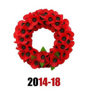 armistice: Poppy world war one great poppies flanders fields