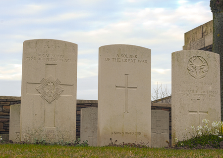 New British Cemetery in flanders fields great war Editorial