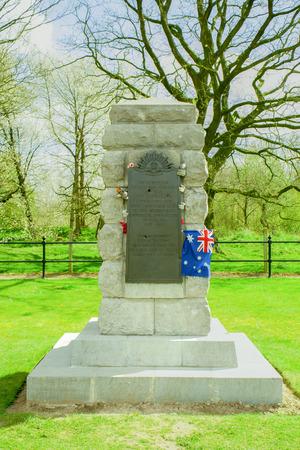 tunneling: Hill 60 world war 1 memorial australian tunneling company  Editorial