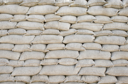 trenches: Background sandbags of trenches world war one Stock Photo