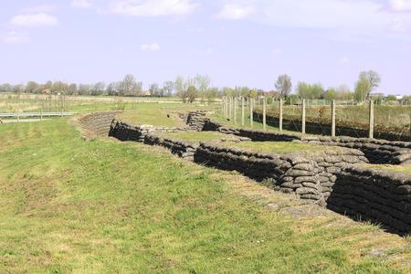 ypres: Trench of death world war 1 belgium flanders fields