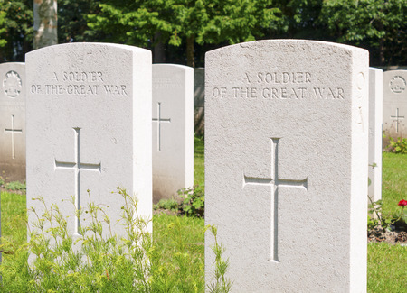 An unknown soldier of the great war WW1