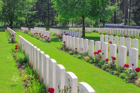 New British Cemetery world war 1 flanders fields photo