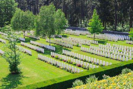 ypres: New British Cemetery world war 1 flanders fields