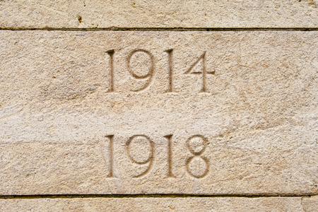 World war on 1914 1918 cemetery in flanders Belgium