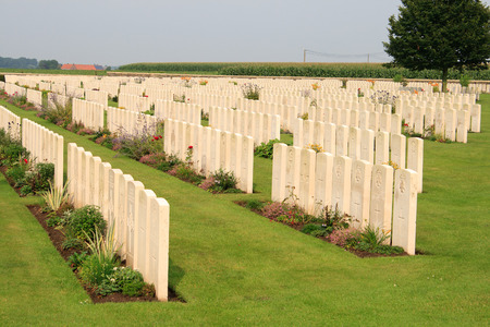 ypres: Bedford House Cemetery world war one Ypres Flander Belgium