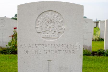 first australians: An Australian soldier of the great world war one  Editorial