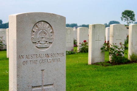 first australians: An unknown Australian soldier of the great world war one
