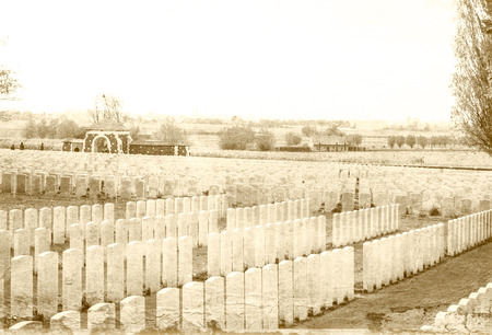 ypres: Tyne cot world war one