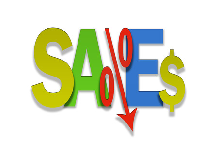 bargain: colored sales bargain lower percent price goes down