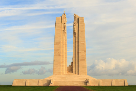 The Canadian National Vimy Ridge Memorial in France Stok Fotoğraf