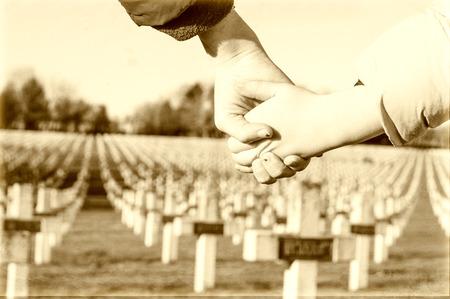 children walk hand in hand for peace world war 1 Stok Fotoğraf