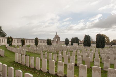 墓地に落ちて世界大戦フランダース ベルギーの兵士