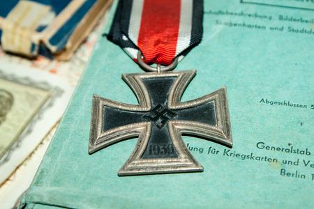Deutsch Iron Cross Zweiten Weltkrieg Standard-Bild - 43654453