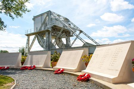 seconda guerra mondiale: Ponte di Pegasus in Francia Seconda Guerra Mondiale