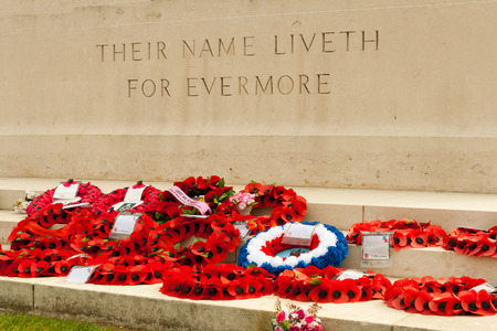 ypres: their name liveth for evermore poppies
