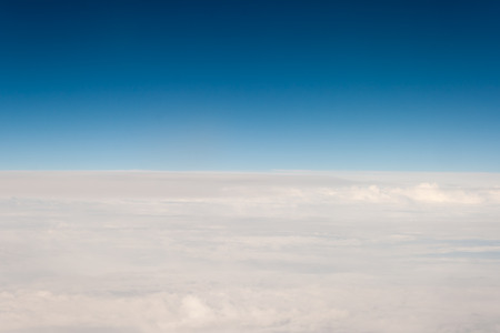 atmosfere: view from off the plane on clouds
