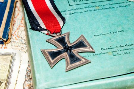the iron cross a German award world war Editorial
