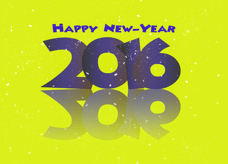 resolutions: Happy new year 2016 resolutions Stock Photo