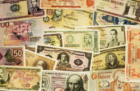 grand hard: A lot of South-American bills